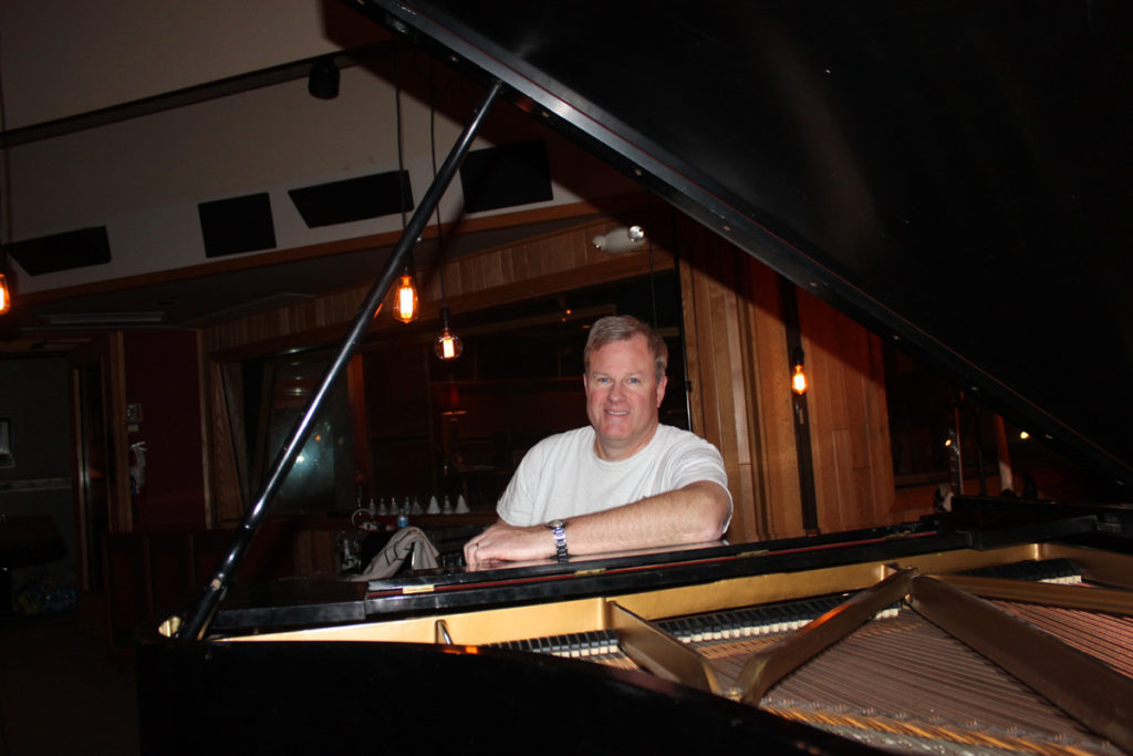 Kevin at the Steinway