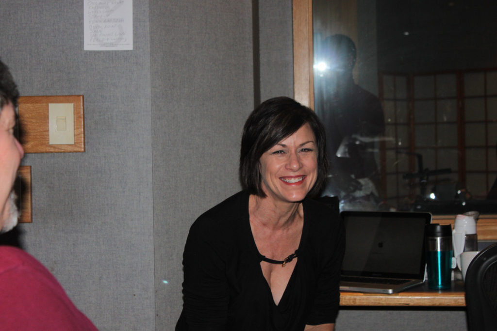 Susan in Studio 7